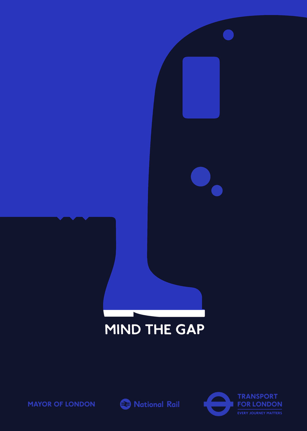 Transport for London - Saatchi & Saatchi commissioned some alternative poster designs for TfL's
