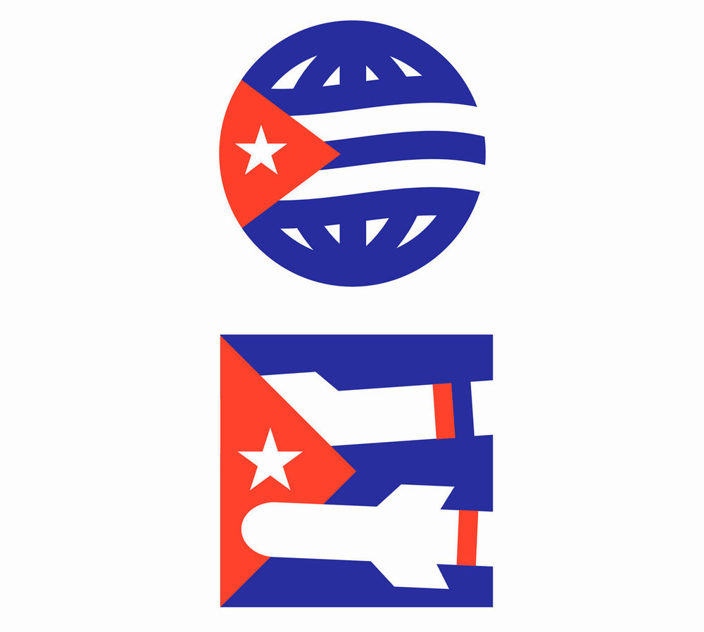 The New York Times - An icon commissioned by The New York Times to be used as the visual identity for an Opinion column in partnership with NYT Español titled: Revolution 60: A Reflection on Cuba's Past, Present and Future. The body of essays marked the 60th anniversary of the Cuban Revolution at the start of 2019.