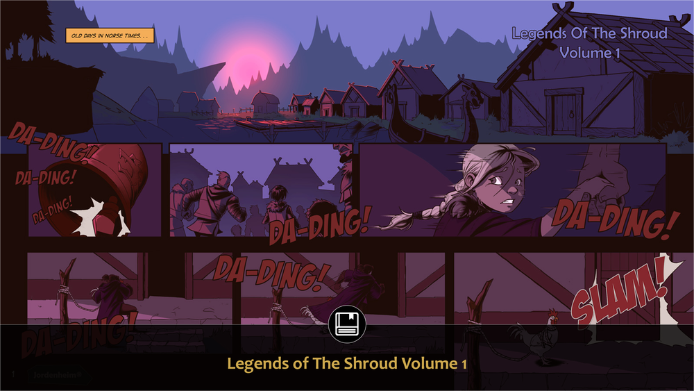 Legends of the Shroud tells the tale of the backstory for the characters in our Blood Bond PC/Console Game. -