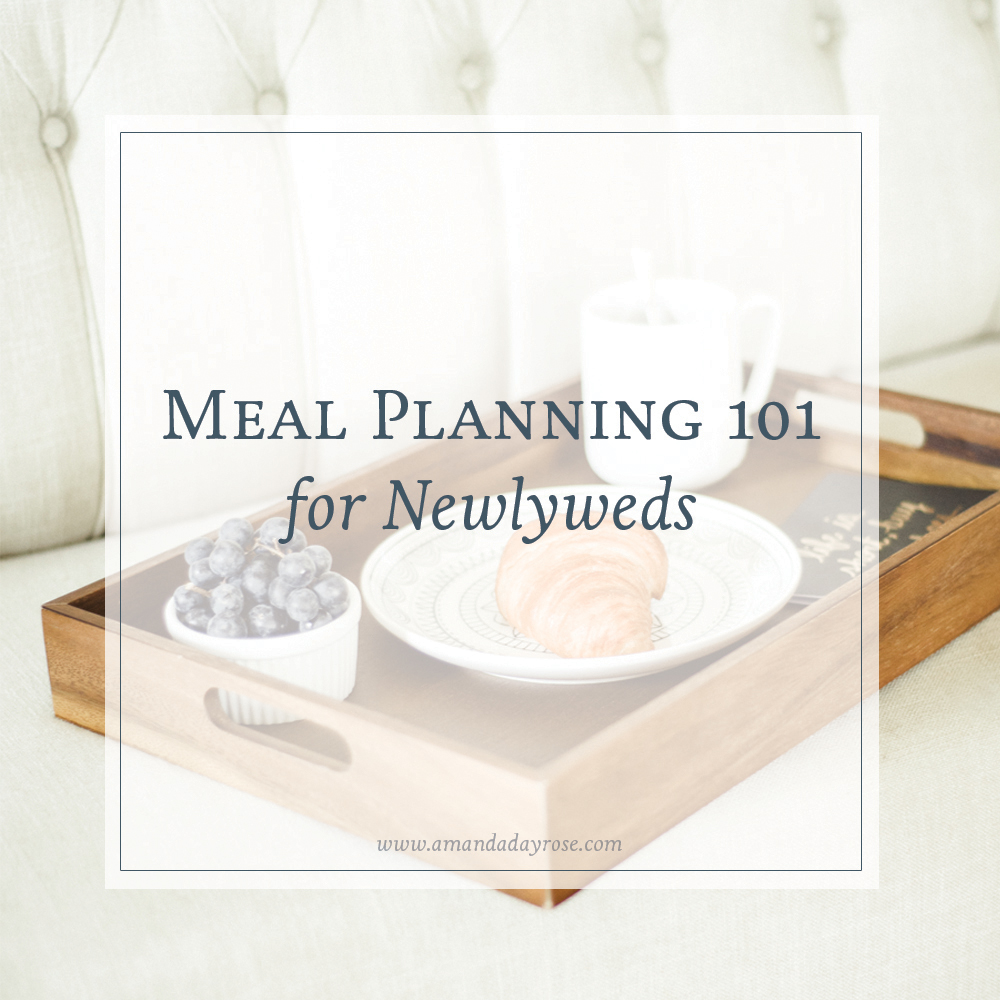 Meal Planning 101 for Newlyweds