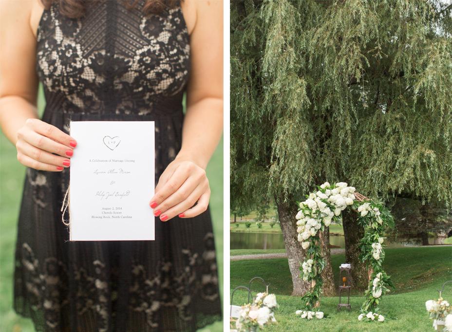 Lauren & Philip's Chic Mountainside Wedding