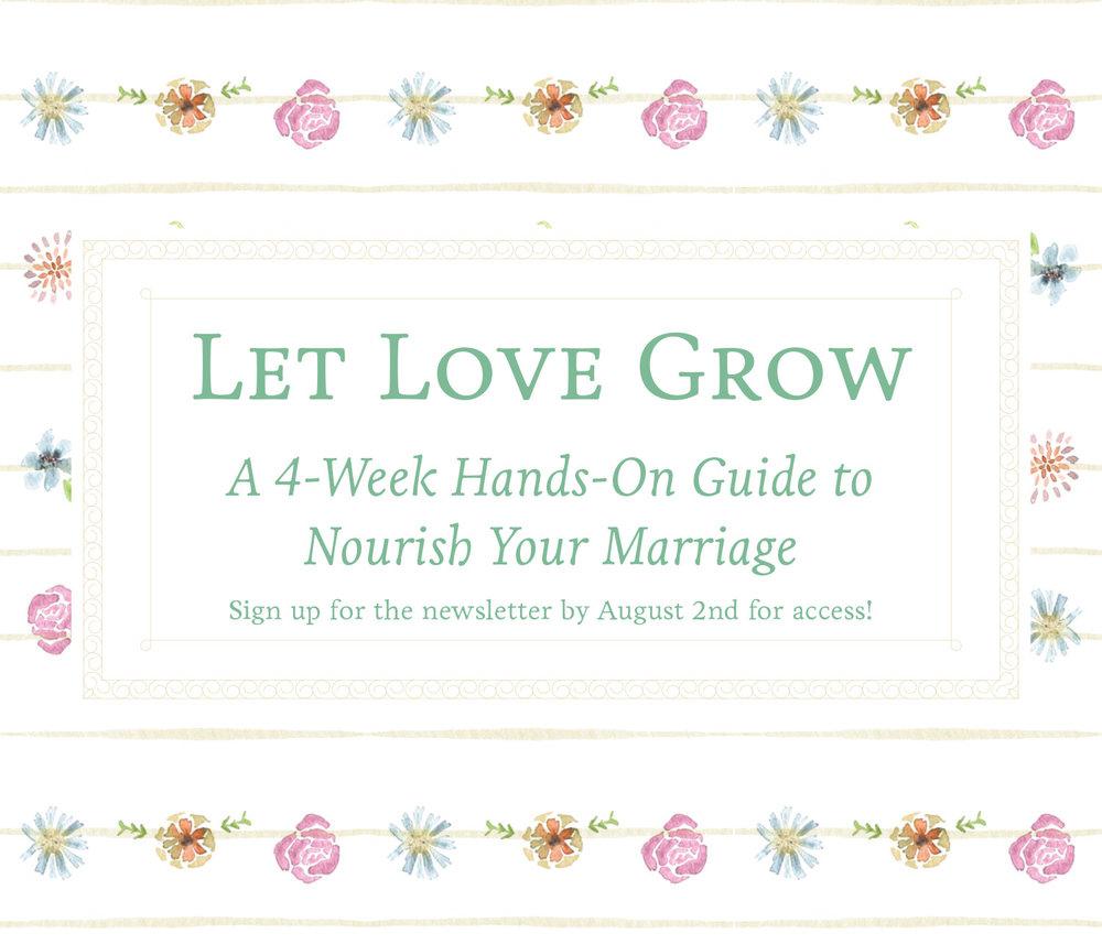 Let Love Grow: Gardening & Marriage