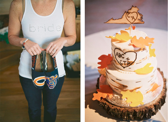 Amanda + Chris' University-Infused Fall Wedding
