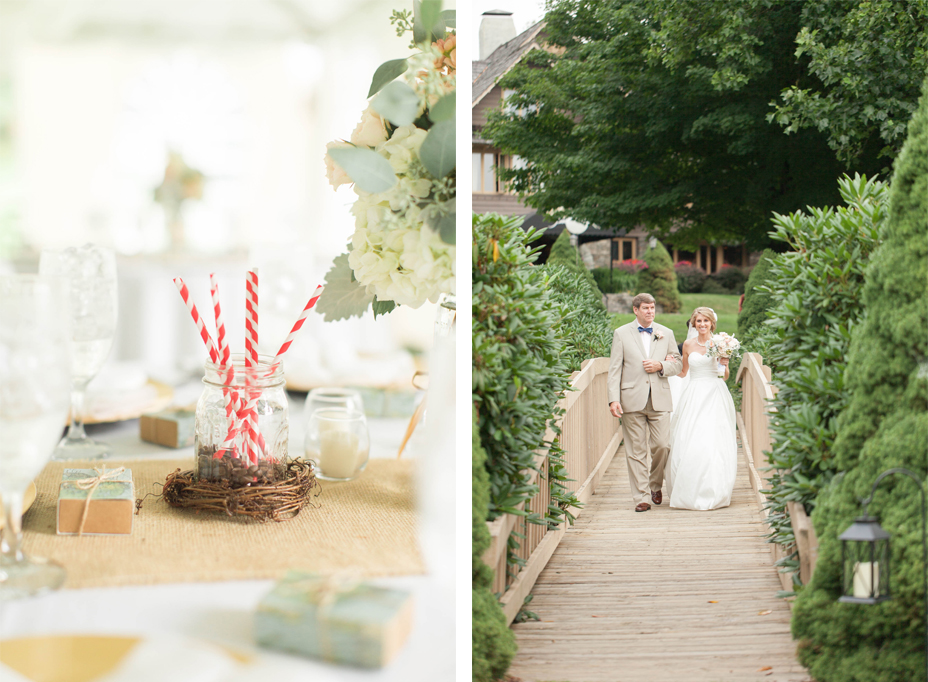 Lauren and Philip's Chic Mountainside Wedding