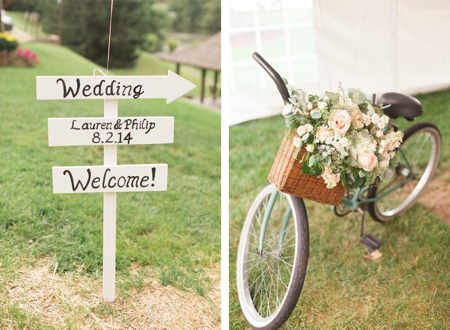 Lauren & Michael's Chic Mountainside Wedding