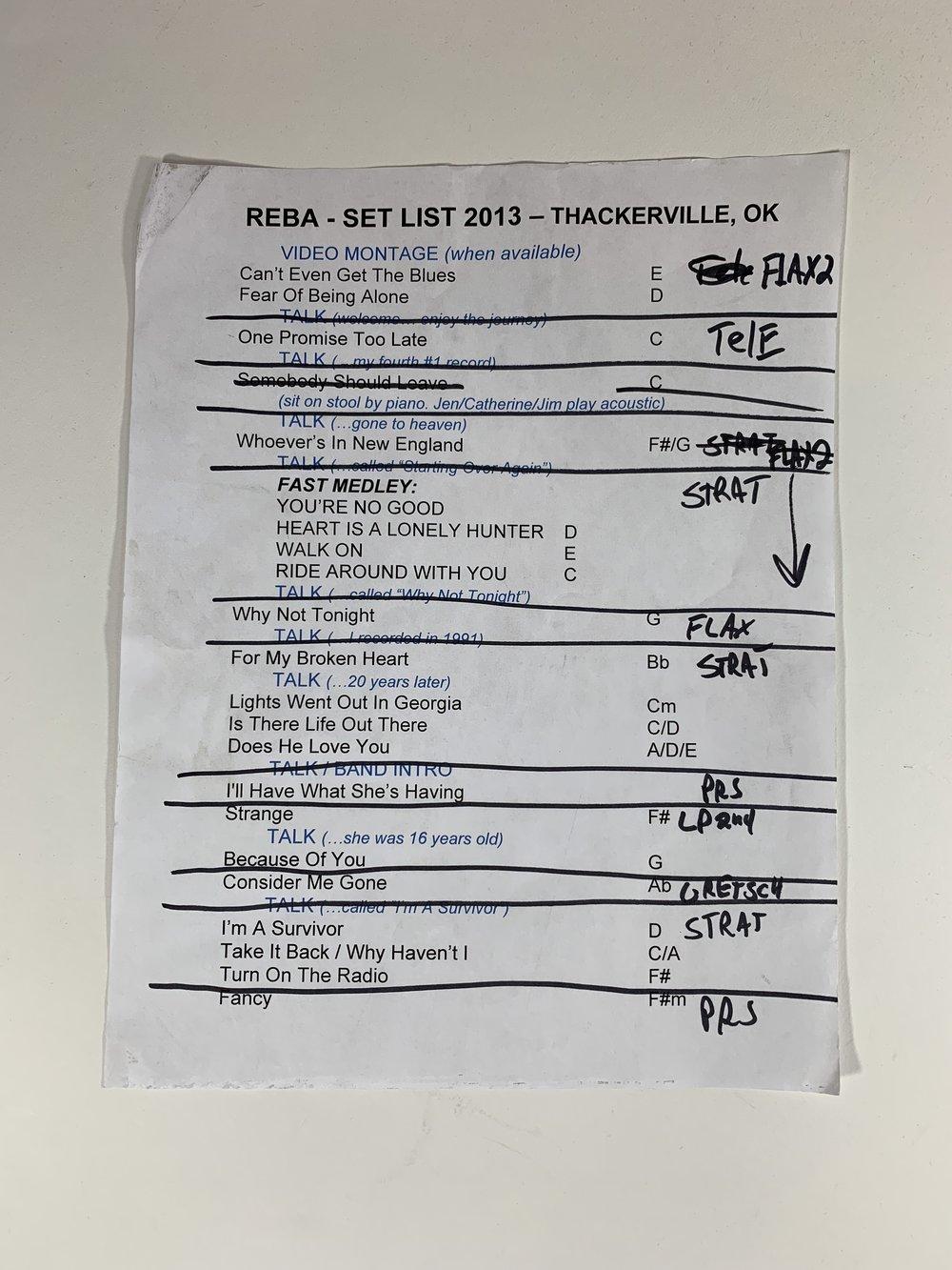 Reba McEntire | Thackerville, OK | 11/2/13