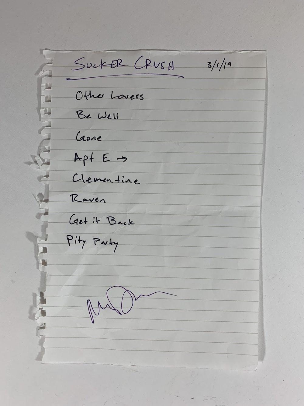 Sucker Crush | Swedish American Hall | 3/1