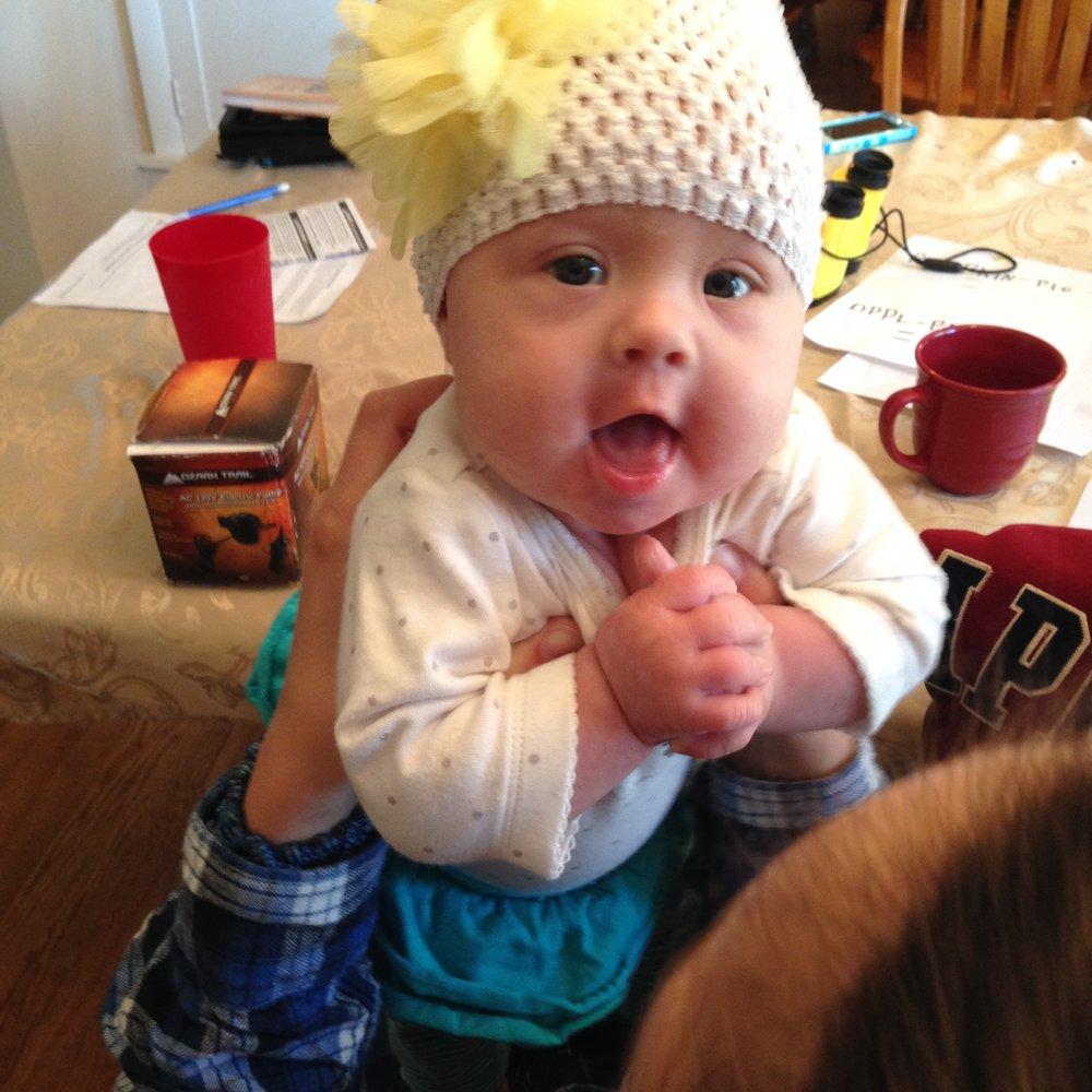 Lulu pre-Infantile Spasms -
