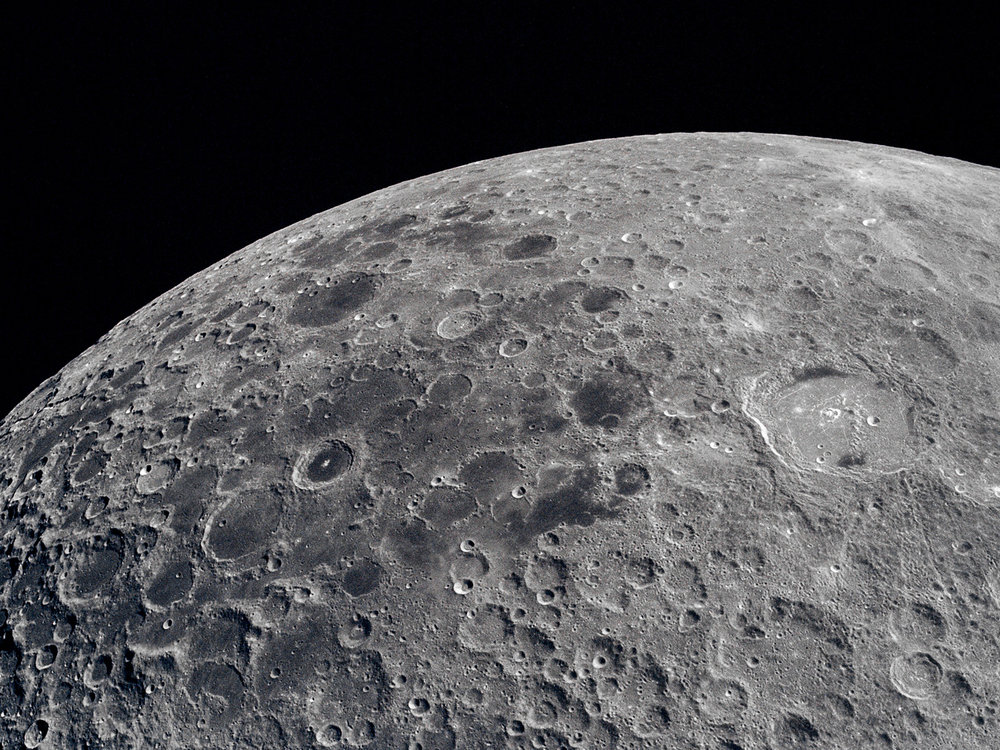The moon - A first glance up close