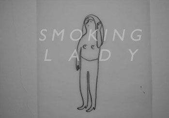 Cailtin Duennebier, Smoking Lady, 2015
