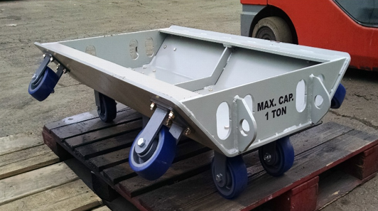 Troughing Cart