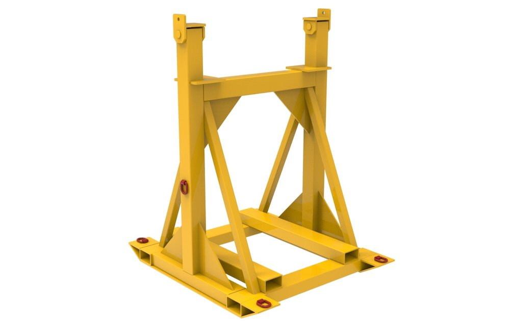 Loader Bucket Maintenance Stands