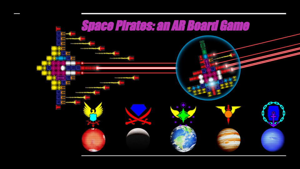 SPACE PIRATES - Spring 2018 Pitch Project at CMU
