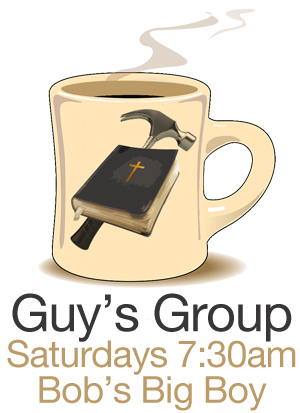 Guy's Breakfast Group: Saturdays 7:30amMen, join us at Bob's Big Boy, Calimesa for a time of encouragement and connection. We pick up the
