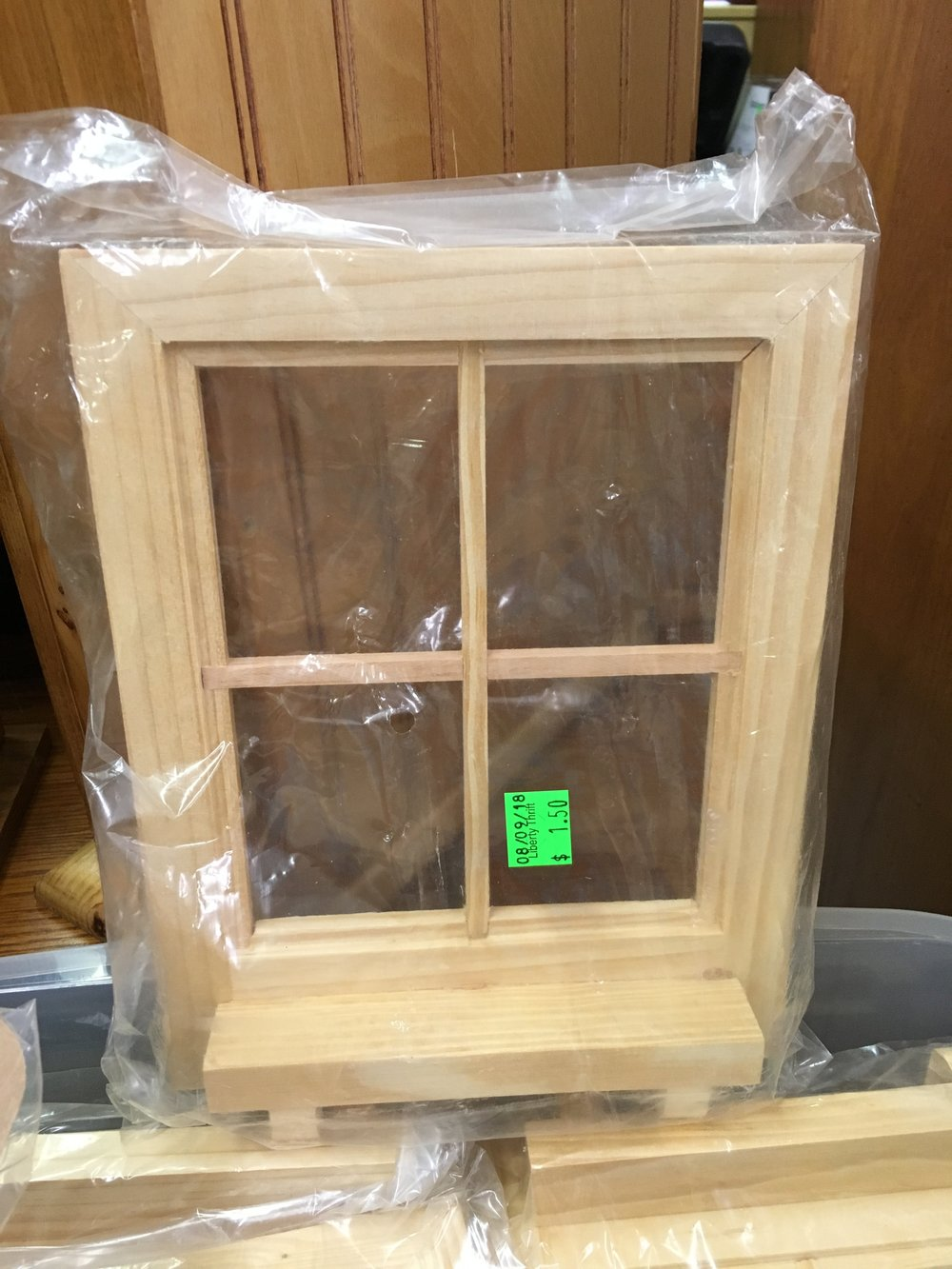 Window frame craft - sponsored by Kristin Johnson