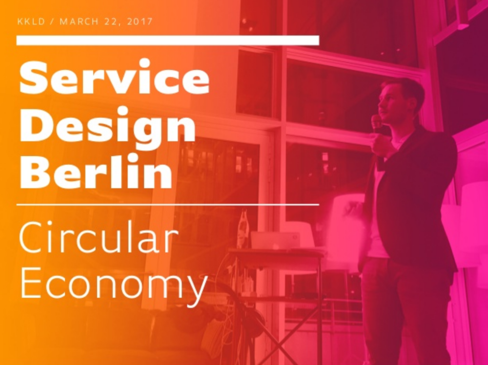 Service Design Drinks 2018