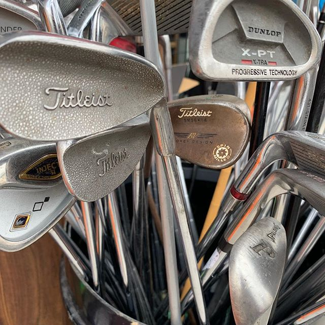 Have gently new or used clubs that you do not need? Contact us!