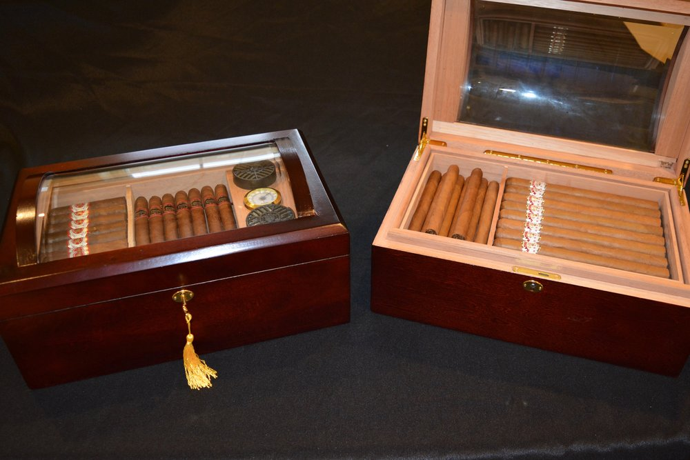 Bottle Service and Complimentary Cigars