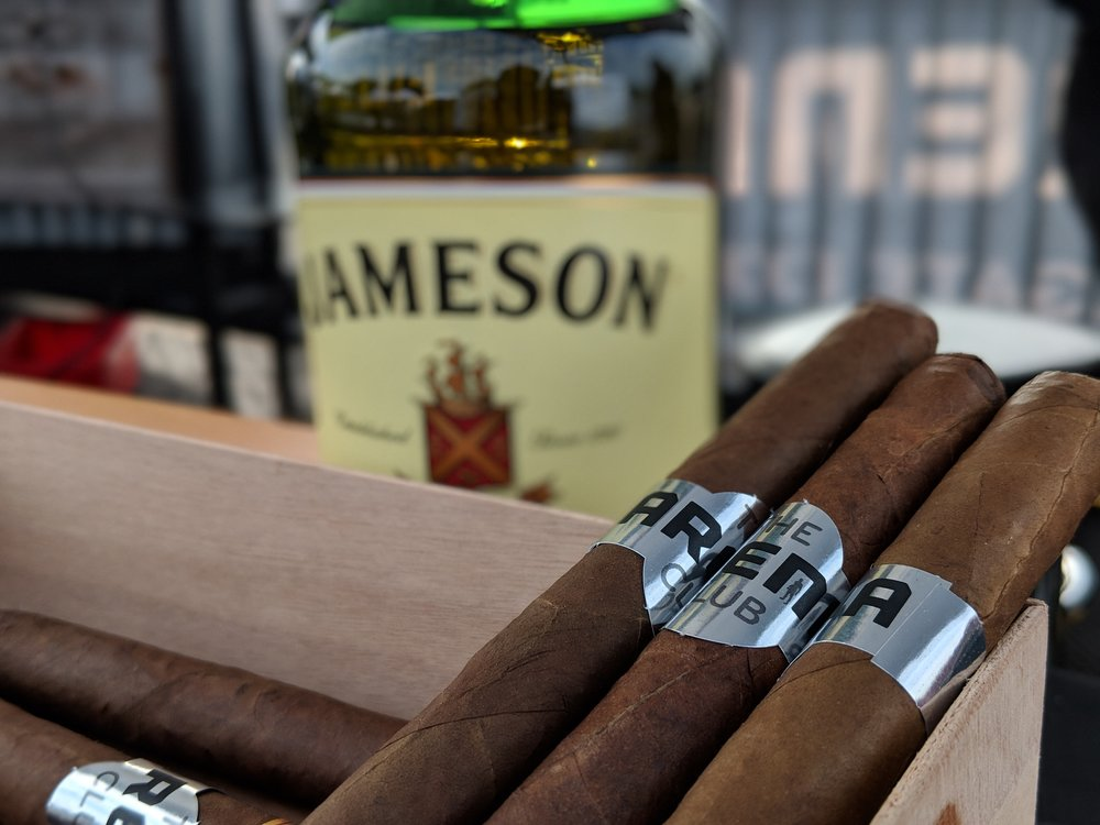 Cabana Bottle Service & Complimentary Cigars