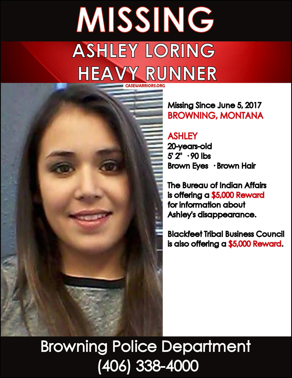 ASHLEY LORING HEAVY RUNNER