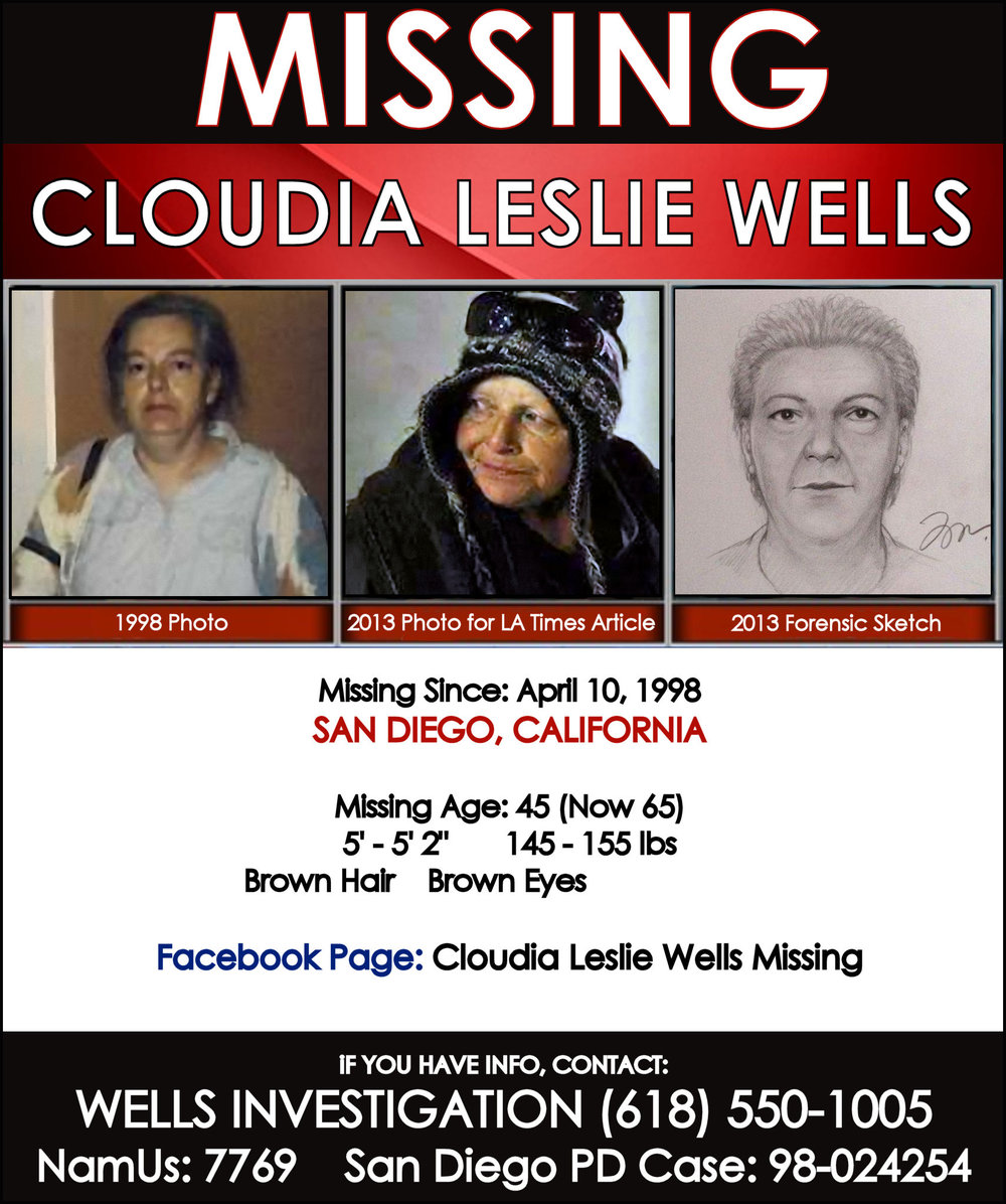 CLOUDIA LESLIE WELLS