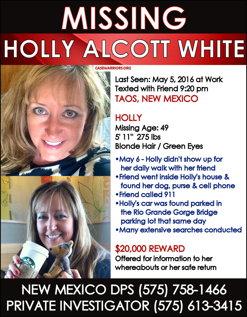 HOLLY WHITE