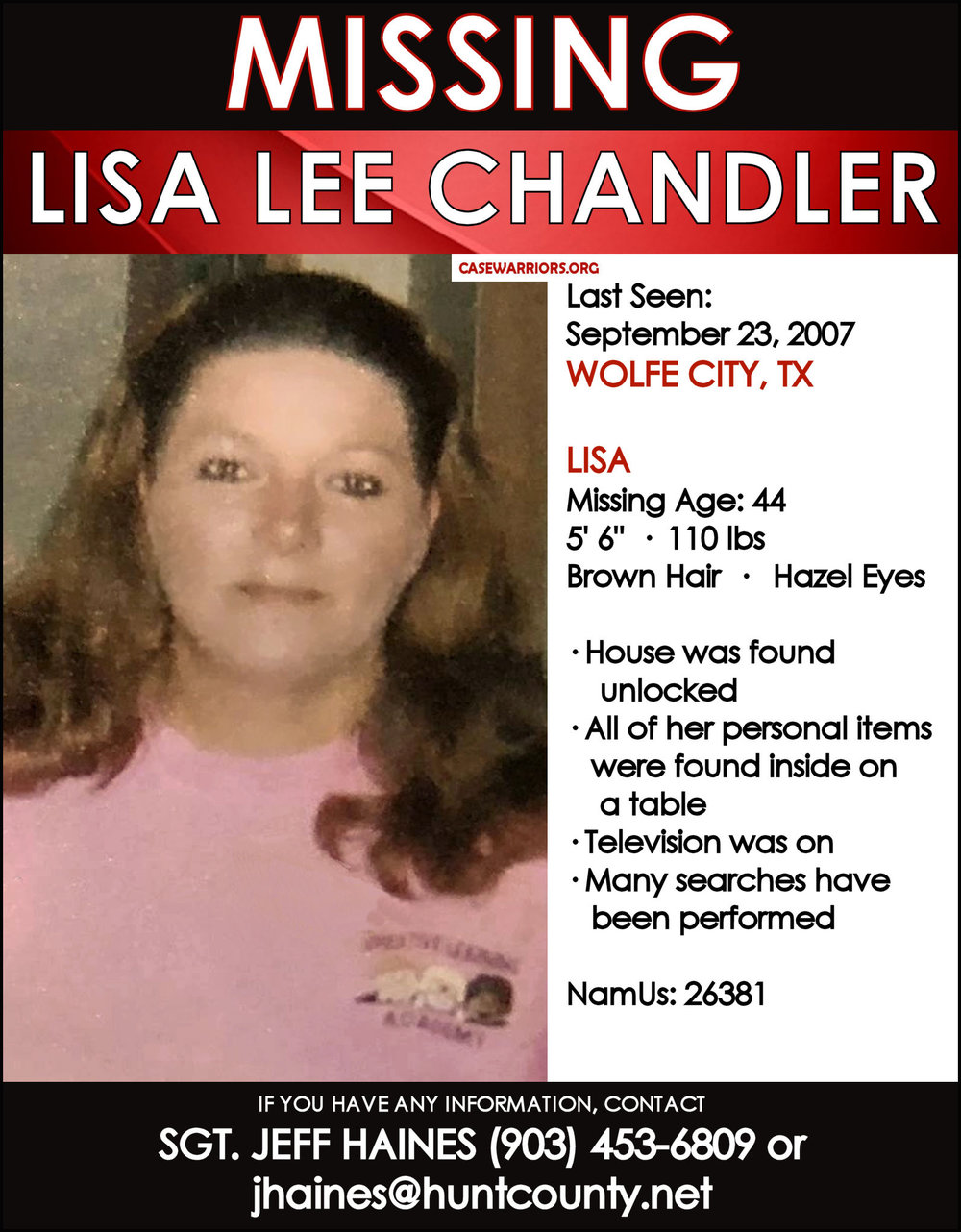 LISA CHANDLER