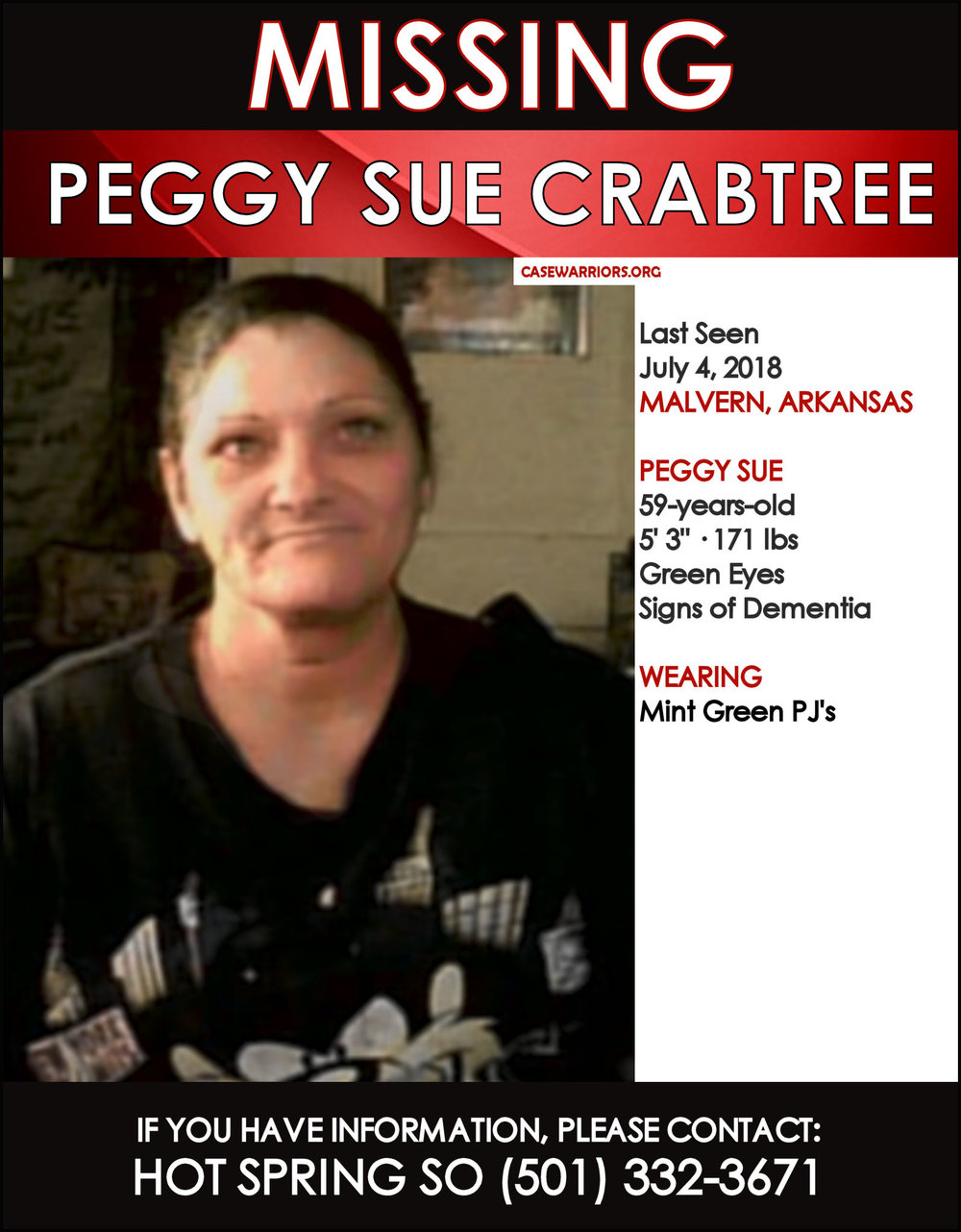PEGGY SUE CRABTREE