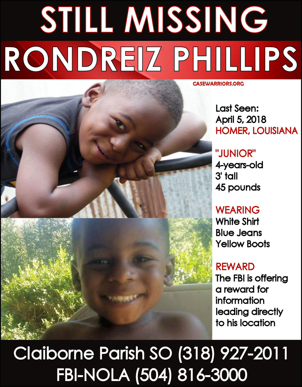 RONDREIZ JUNIOR PHILLIPS