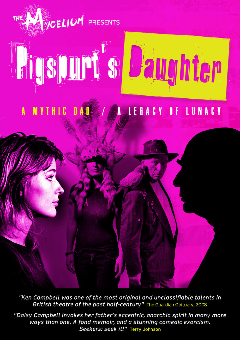 Event poster for Pigspurt's Daughter