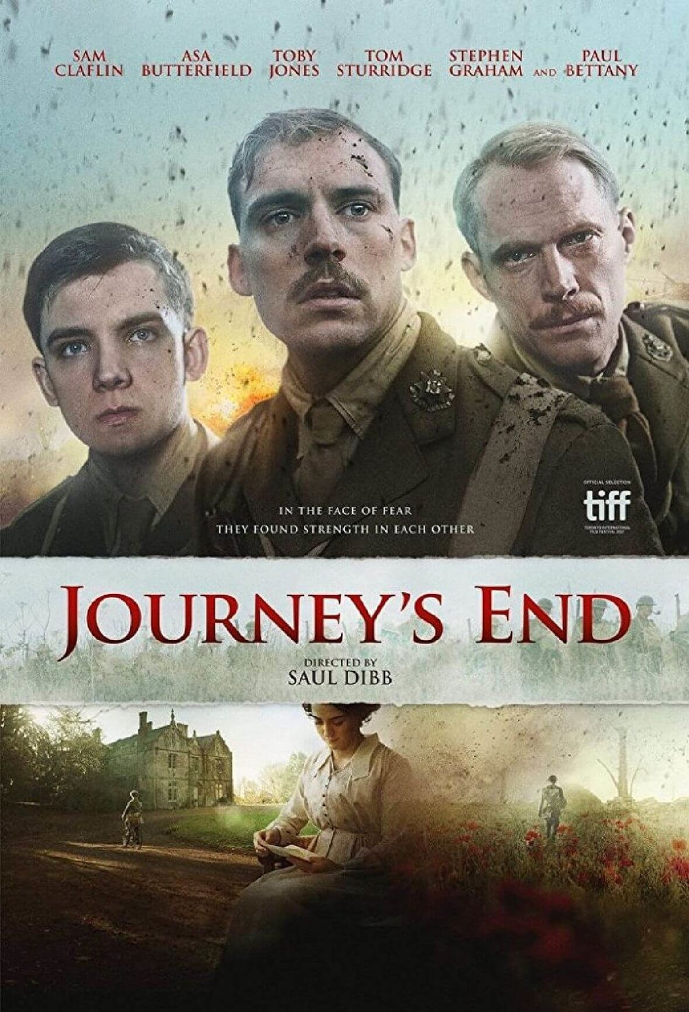 Cover image for the film, Journey's End