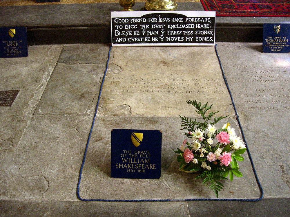 Shakespeare Grace Stratford-upon-Avon