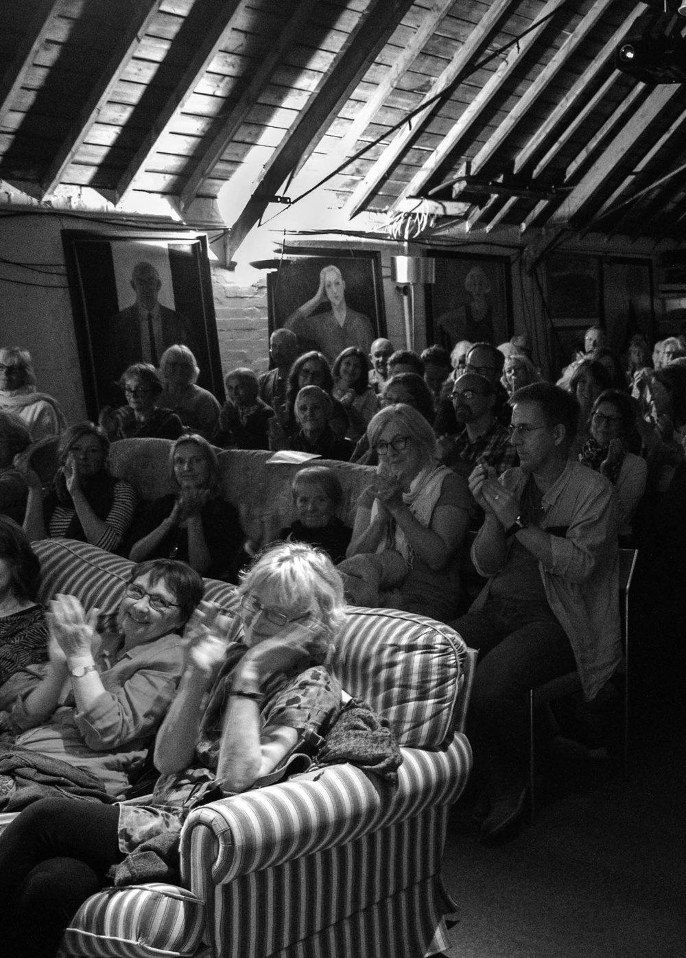 Audience at an Ebenezer Event