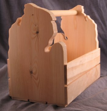 Michigan Mitten Crate