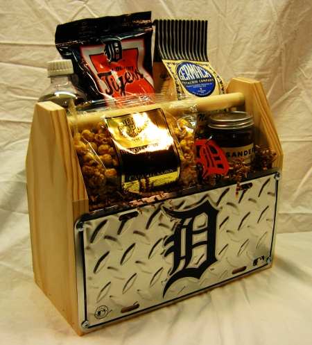 Detroit Tigers Gift Basket