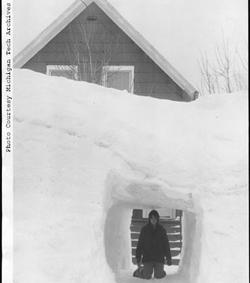Michigan snowtunnel