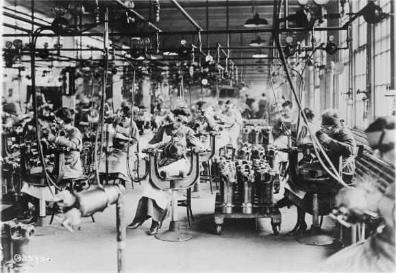 Welding Lincoln Motor Co