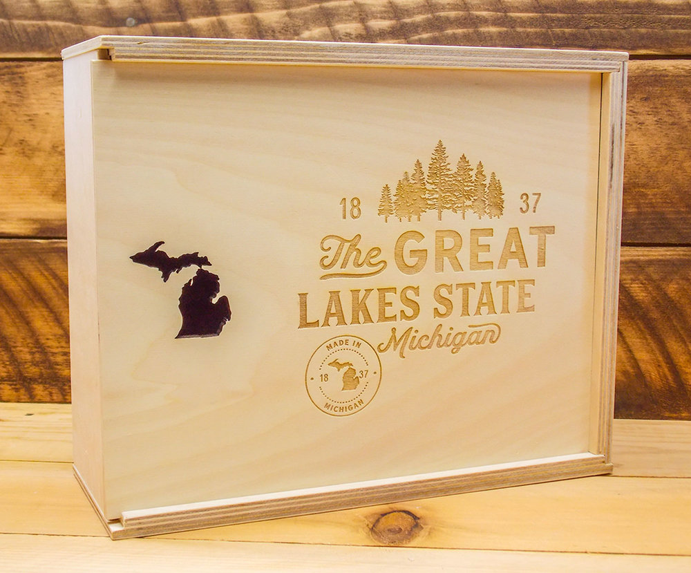 Great Lakes State gift box
