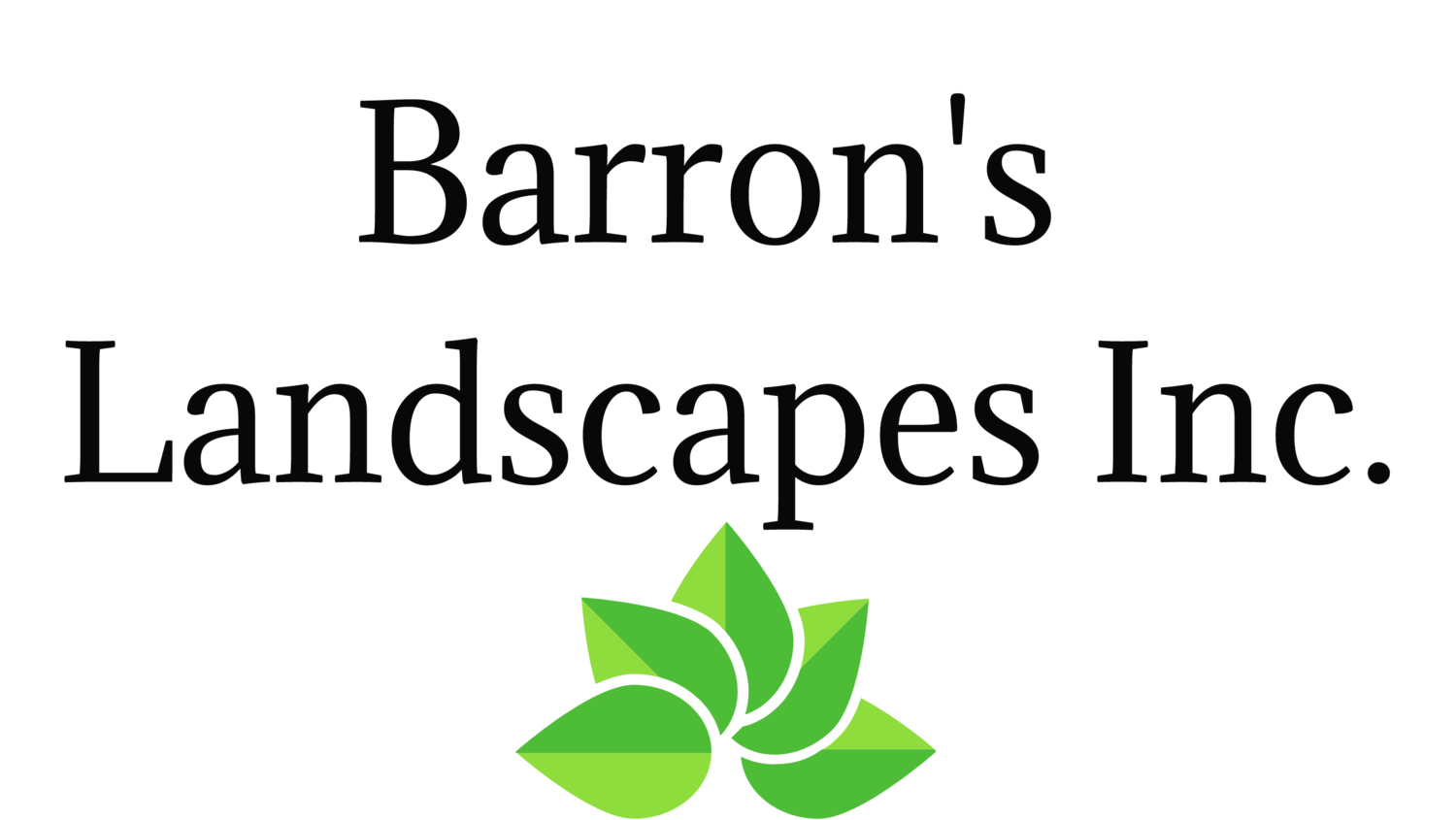 Barron's Landscapes Inc.