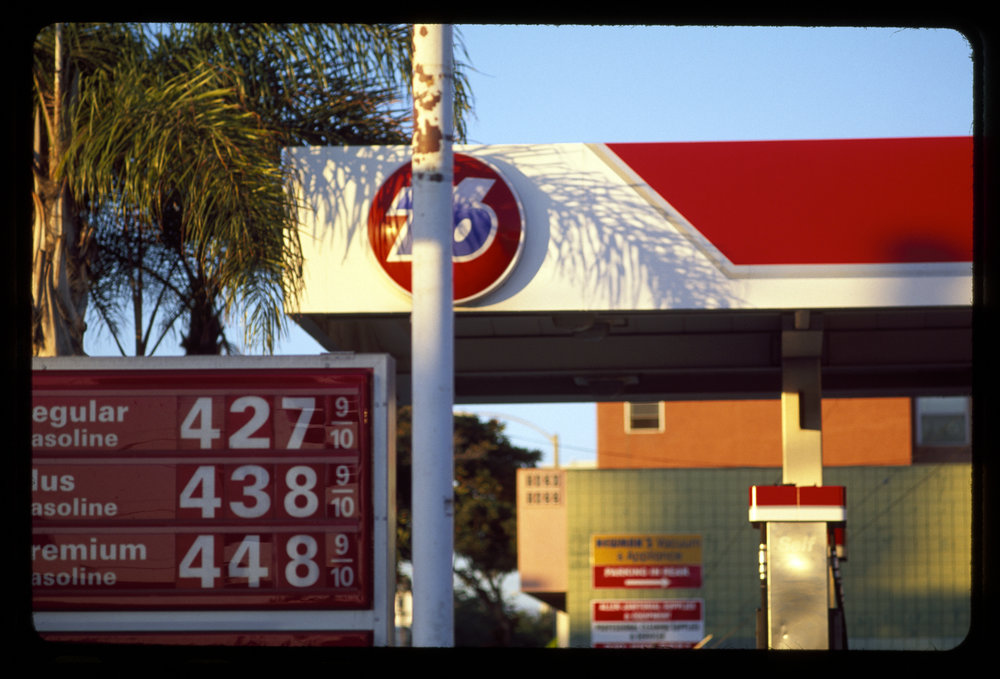 Gallons: The Gas (#31) Archival fine art print from 35mm slide, 15 x 21.5 in From the film Gallons, 2017  Watch here  (password required)