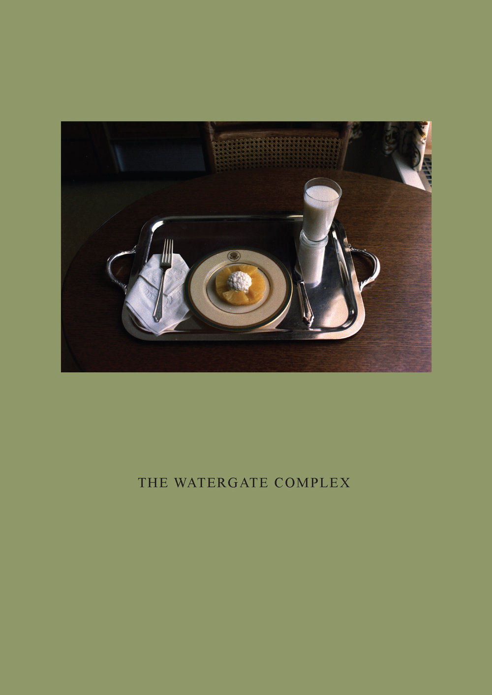 The Watergate Complex Artist's book Published by Rice+Toye (2015) Softback, 20 pages  View publication