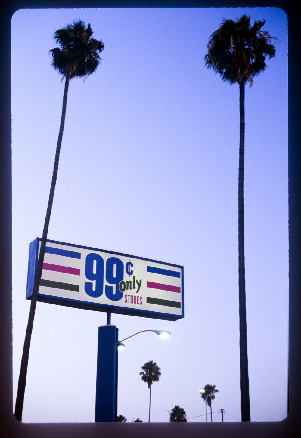 99 Cents Only 2013 Archival fine art print from 35mm slide, 39.6 x 27 in
