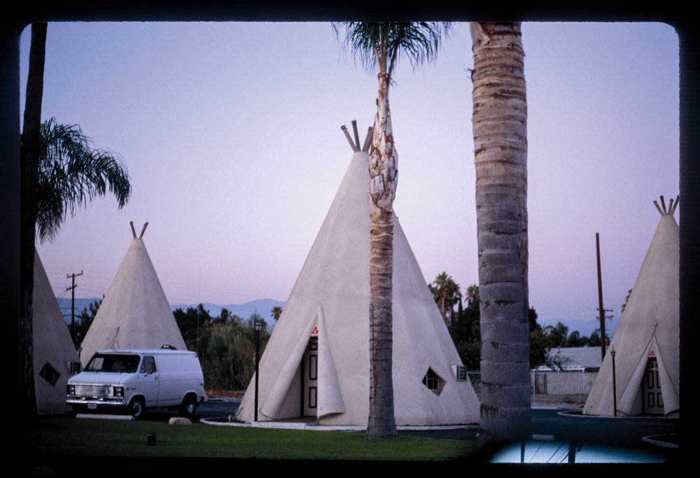 Wigwam Motel 2013–14 Archival fine art print from 35mm slide 15 x 21.5 in