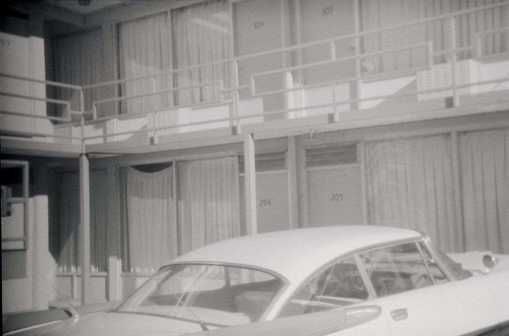 Lorraine Motel, Memphis, Tennessee Gelatin silver print, 4 x 6 in From the book 13 Presidents Published by  Slimvolume  (2016)