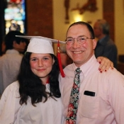 Anthony F. Chiffolo '81 and daughter