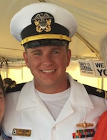 Moore '14 returning home from deployment 2016