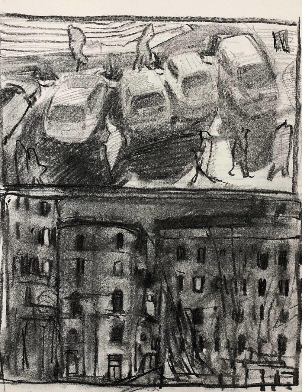 Views from Palazzo Santacroce