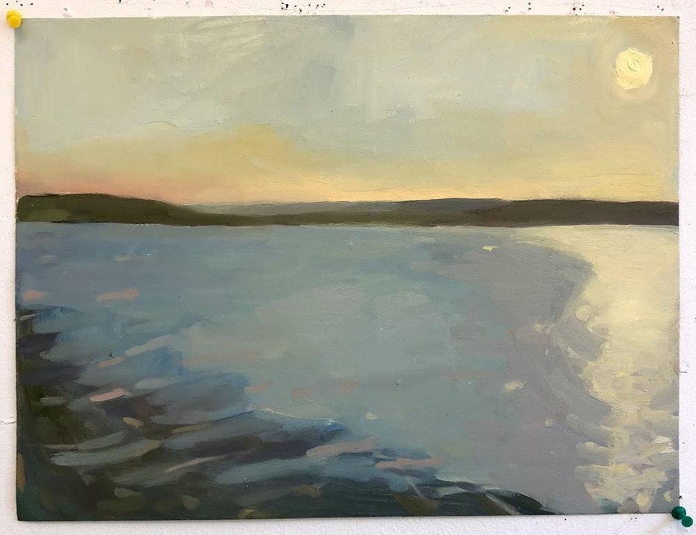 Sunrise at Chautauqua Lake