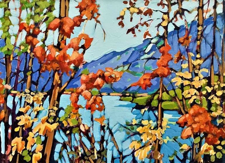 Autumn Beauty 12x18