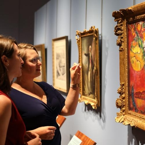 Minnesota Marine Art Museum unveils Chagall painting, three other works - Winona Dialy News, September 24, 2018